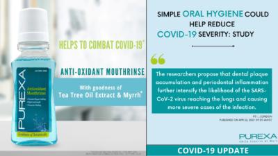 COMBAT COVID19 MOUTHWASH PUREXAGLOBAL